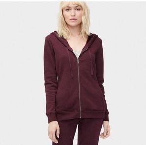 UGG | Clara Classic Zip Front Hoodie Sweatshirt